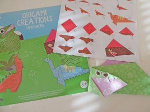origami voor kleuters - action