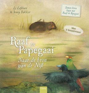 samen lezen met Raaf en Pepagaai