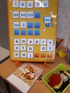 letterbord Veilig leren lezen