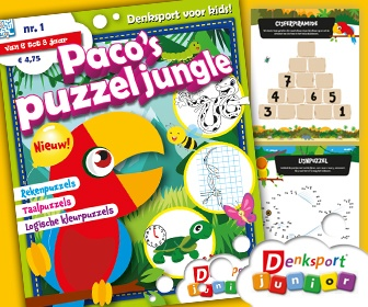 Denksport Paco's Puzzeljungle
