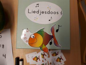 de liedjesdoos - Letters & spetters