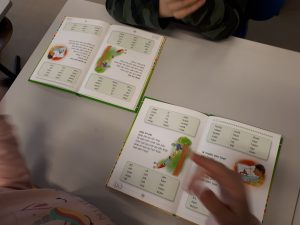 bewegend leren lezen