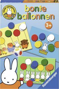 spelletjes voor peuters - bonte ballonnen