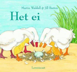 Voorleesboek lente - Het ei