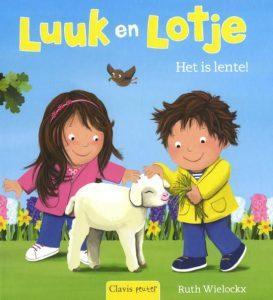 voorleesboek lente - luuk en lotje