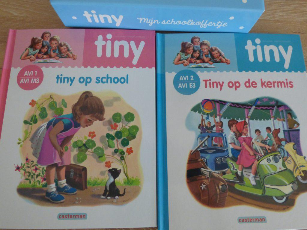 Tiny AVI boekjes - het Tiny schoolkoffertje