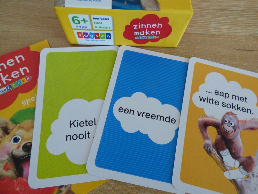 Leesspellen van Zwijsen - Zinnen maken