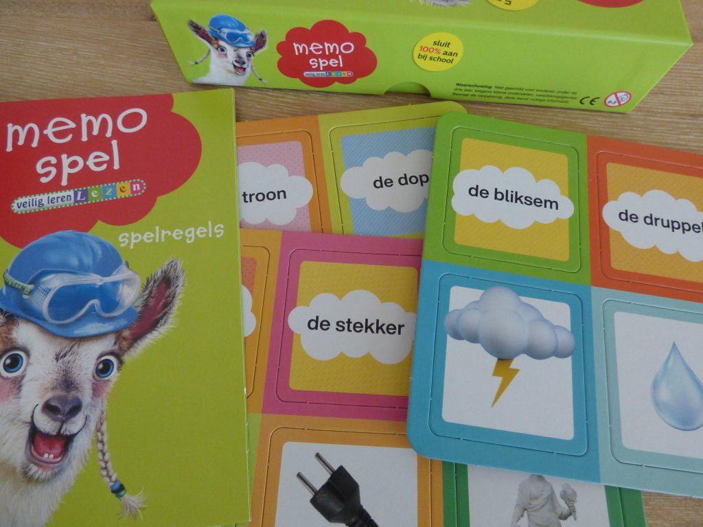Leespellen van Zwijsen - Memo spel