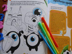 Squla zomerboek