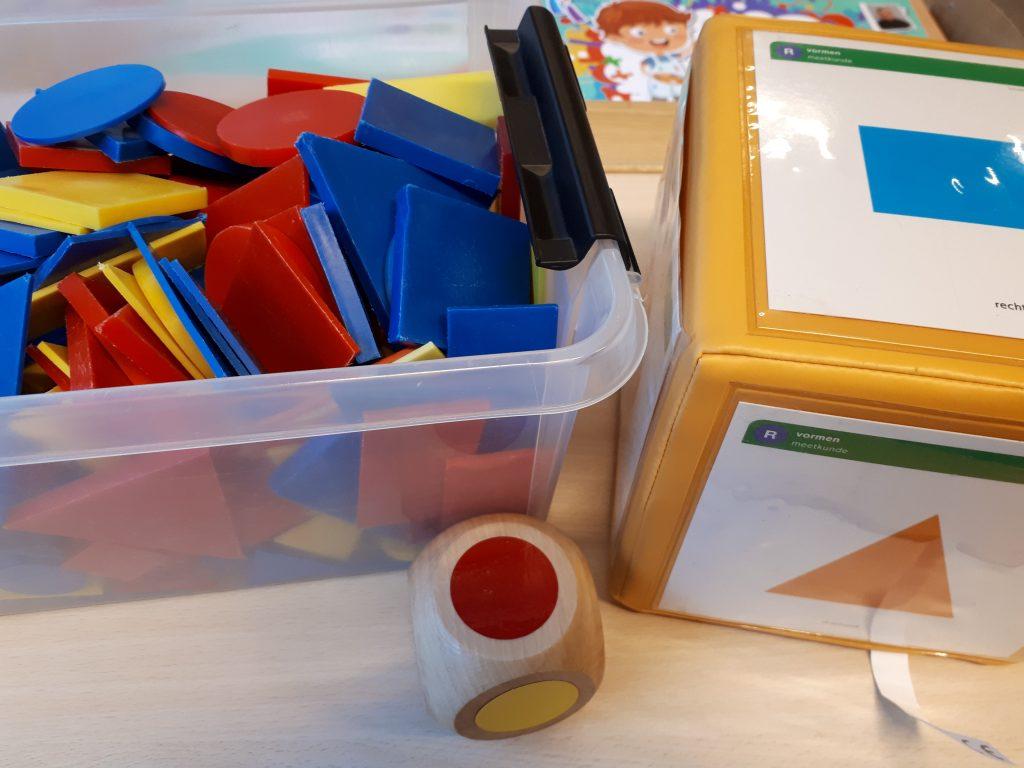 Bewegend leren met peuters en kleuters - kleuren en vormen