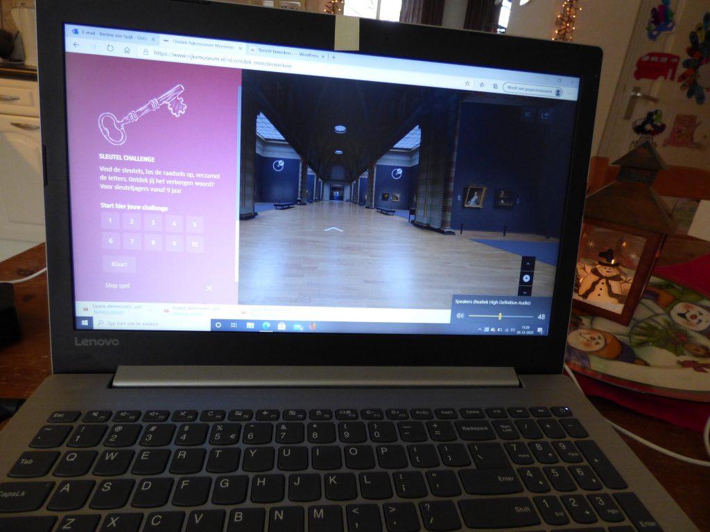online museumbezoek Rijksmuseum
